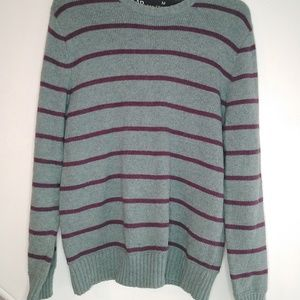 Vintage Oversized Unisex Striped Gap Sweater
